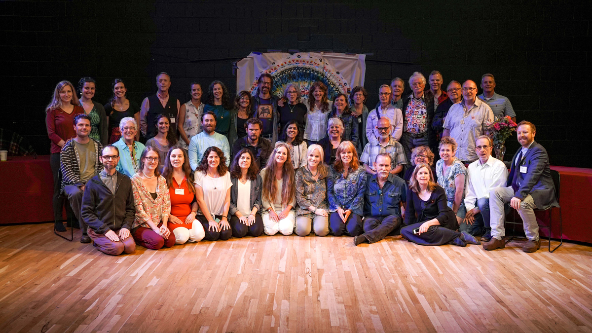 Staff at WCS 2019 conference