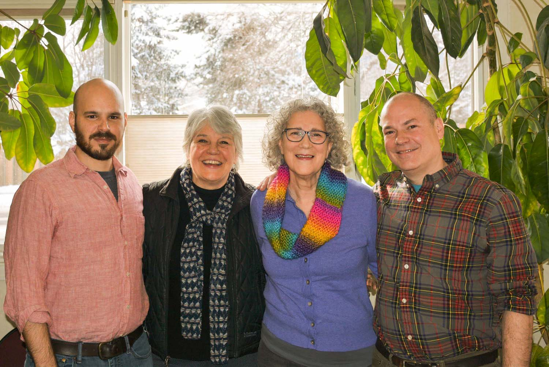 Jeremy Ellis, Kathy Emery, Anne Marie DiGiacomo, and Daniel Green -Windhorse Clinicians
